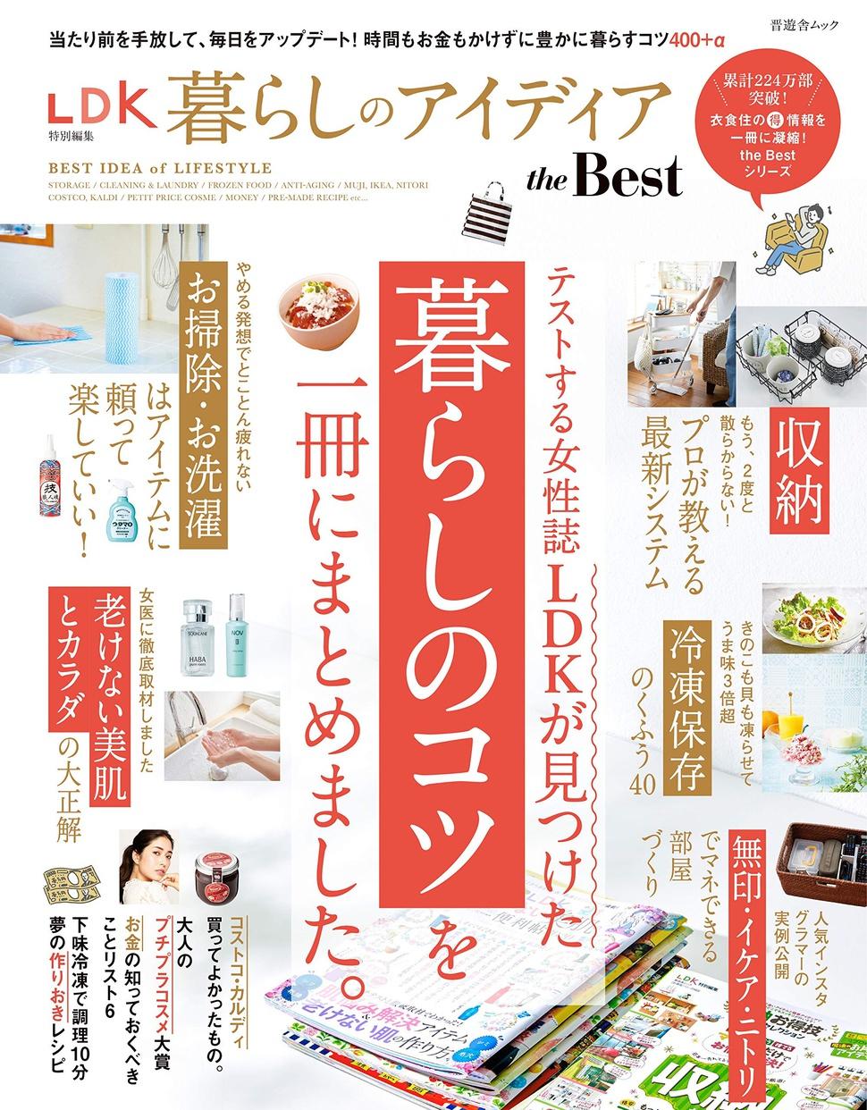晋遊舎(SHINYUSHA) LDK 暮らしのベストアイディア the Best