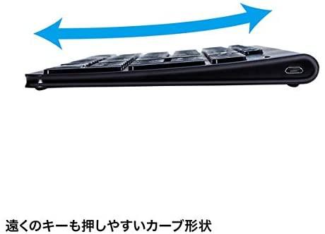 SANWA SUPPLY(サンワサプライ) Bluetoothスリムキーボード SKB-BT31BKの商品画像8