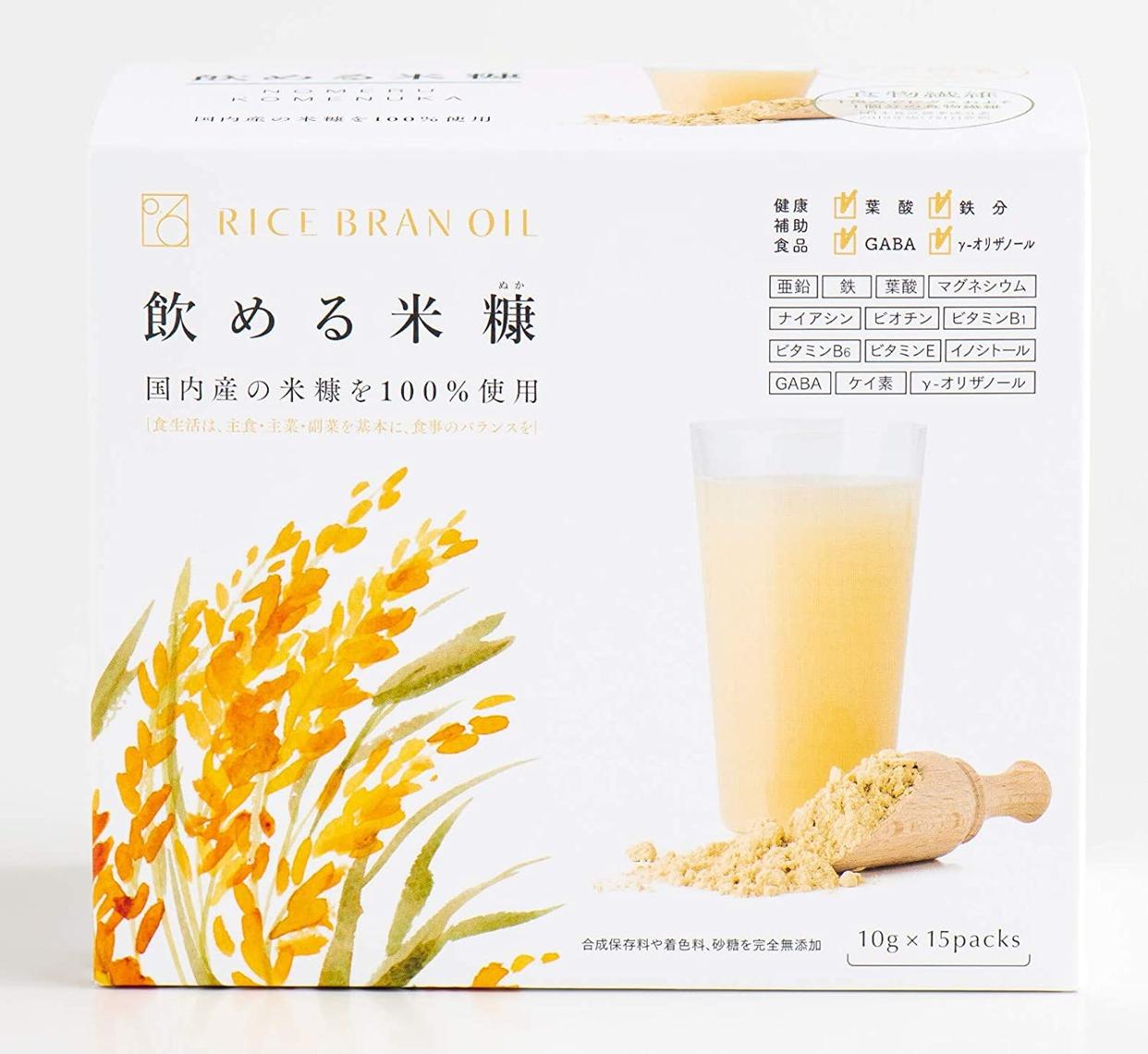 0.6 RICE BRAN OIL(0.6らいすぶらんおいる)飲める米糠