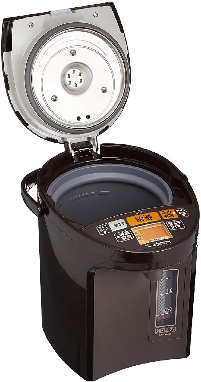 象印(ぞうじるし)マイコン沸とうVE電気まほうびん 優湯生 CV-GA22の商品画像3