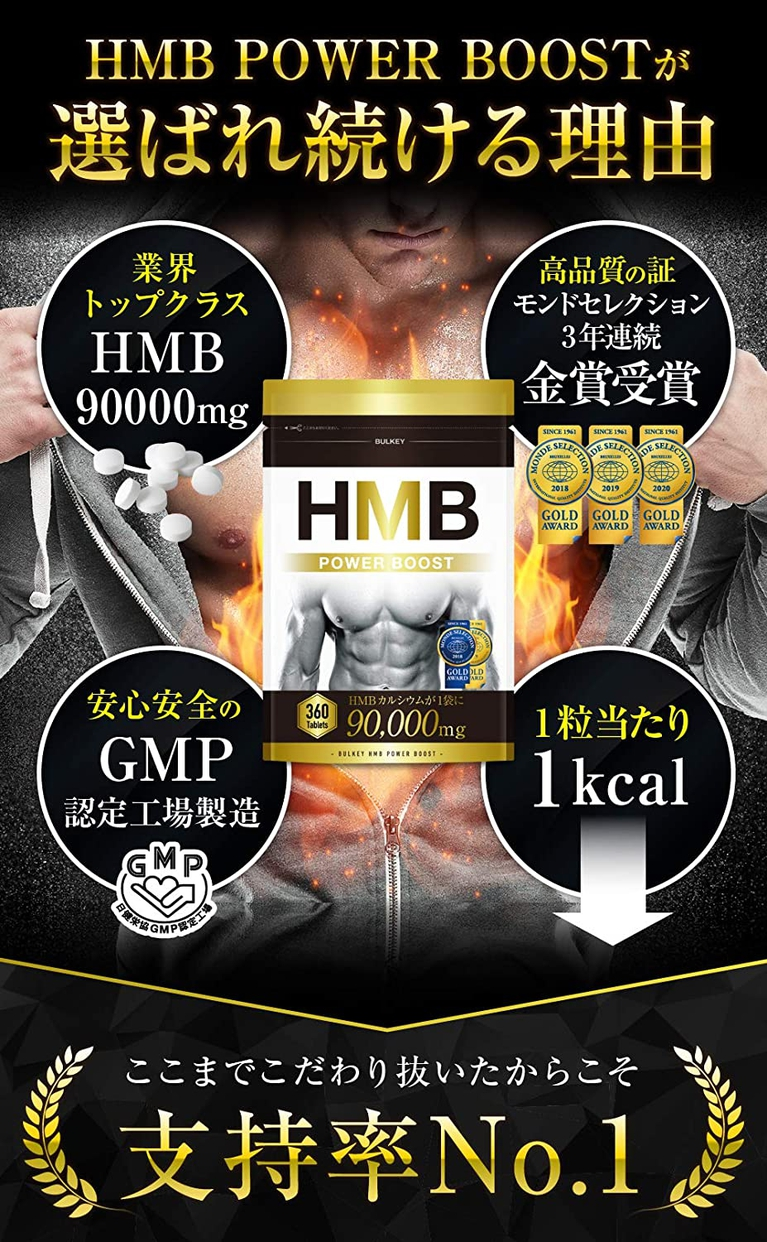 BULKEY(バルキー) HMB POWER BOOSTの商品画像6