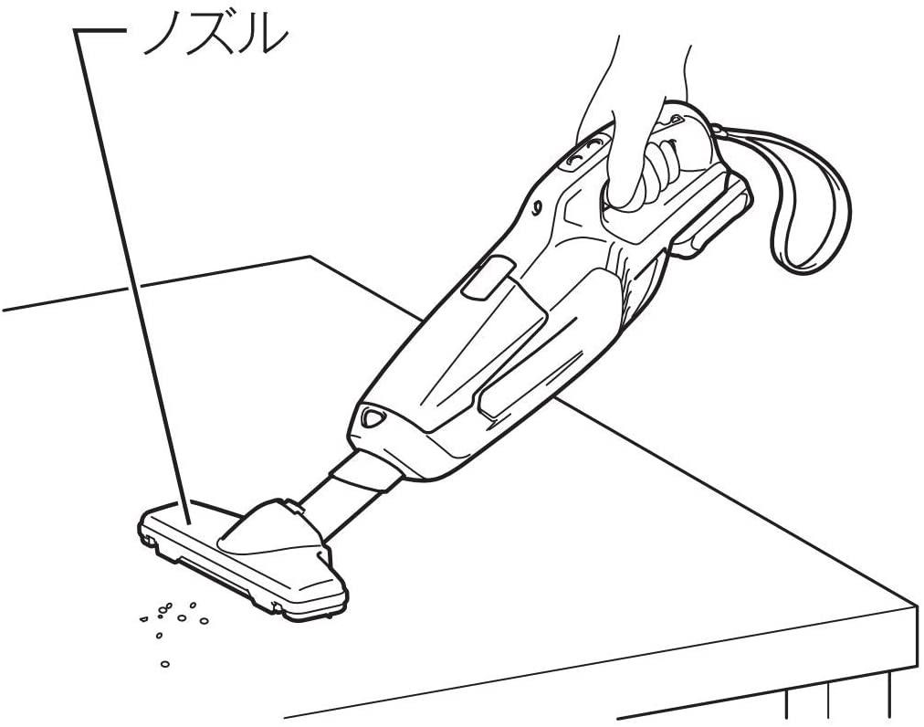 makita(マキタ) 充電式クリーナ CL107FDSHWの商品画像3