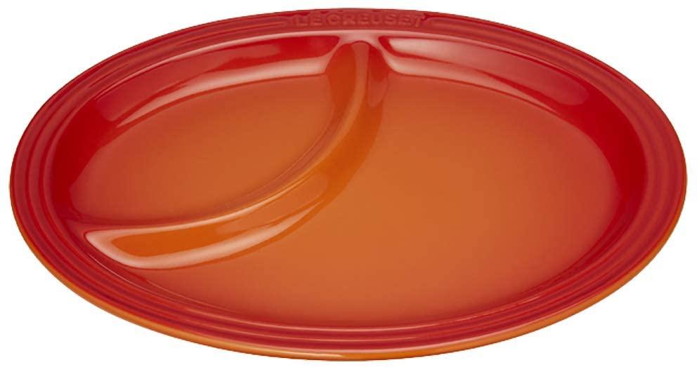 LE CREUSET(ル・クルーゼ) マルチ・オーバル・プレート (S)オレンジの商品画像