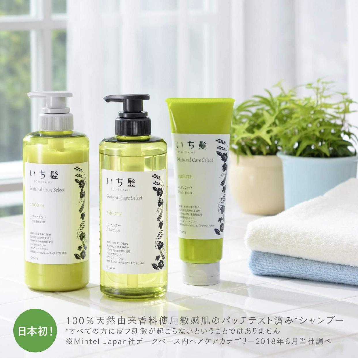 いち髪(ICHIKAMI) ナチュラルケアセレクト スムース シャンプーの商品画像5