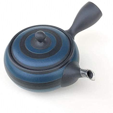 MANMOS VILLAGE(マンモスヴィレッジ) お茶が美味しくなる 常滑焼 急須 藍炭  青の商品画像4