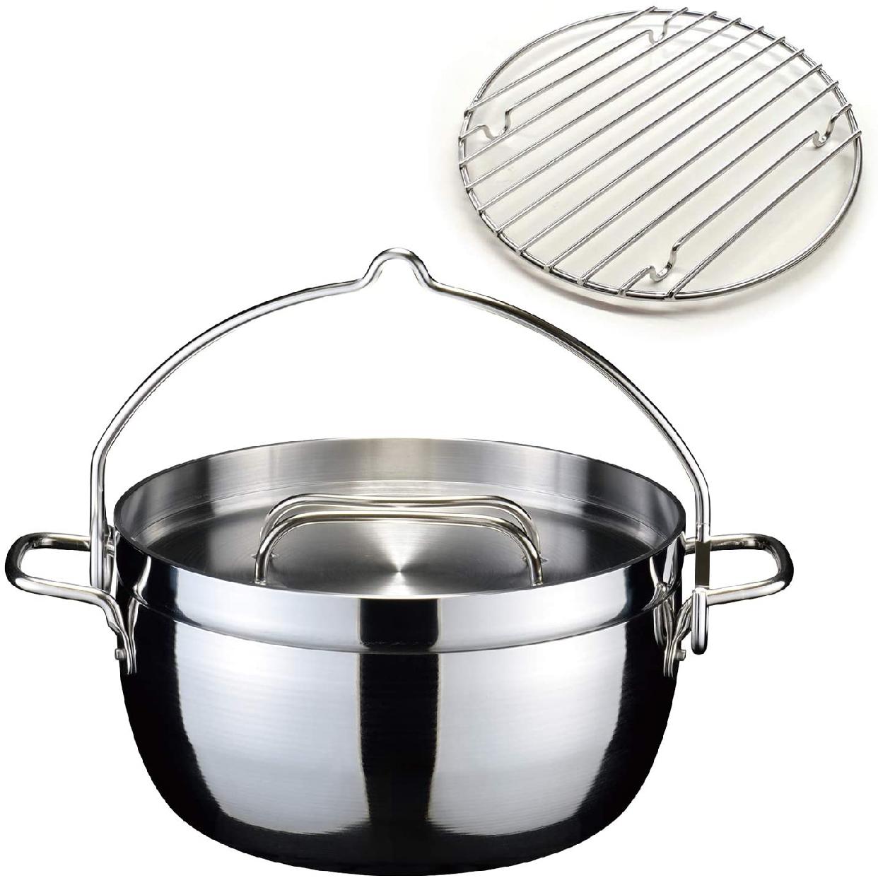 TSBBQ(ツバメサンギョウバーベキュー)ライトステンレス ダッチオーブン10 ステンレスTSBBQ-005の商品画像