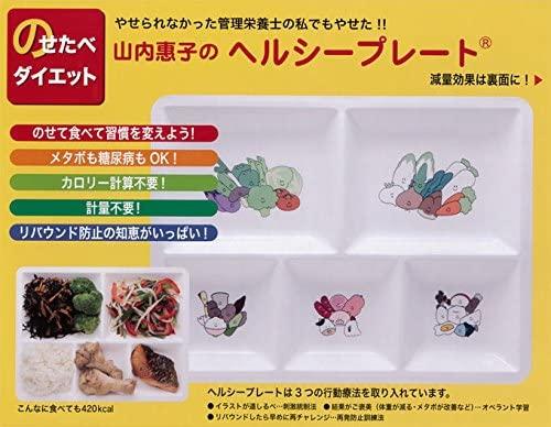 HPYK(エイチピーワイケイ)山内惠子のヘルシープレートのせたべダイエット箱入りセット(改定本入り)の商品画像