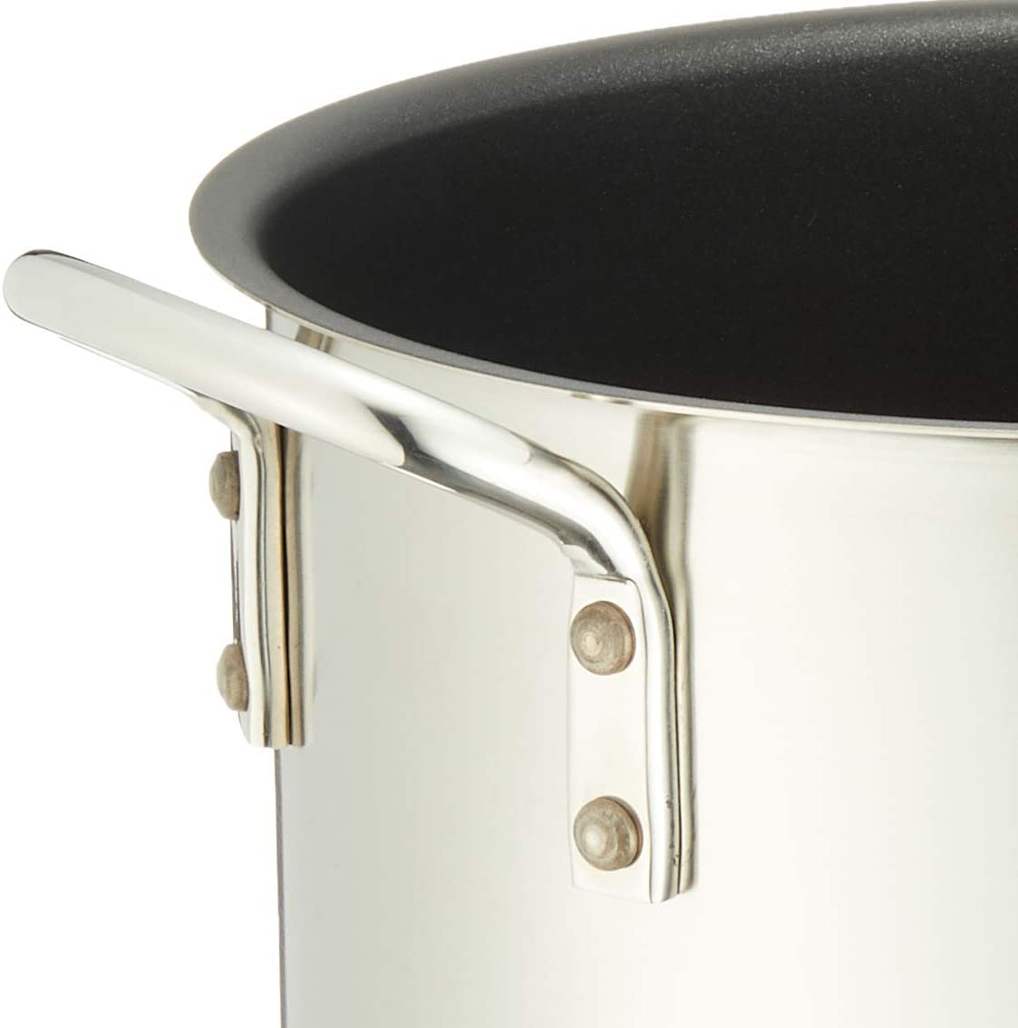Murano(ムラノ) インダクション  テフロンセレクト 寸胴鍋 (蓋無)24cm 18-8 AZV-78の商品画像5