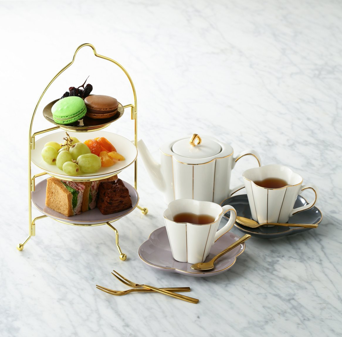 Francfranc(フランフラン) おうちカフェセット 2 personsの商品画像2