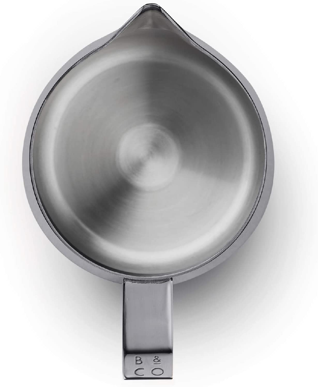 Barista&Co(バリスタアンドコー)Dial In milk Pitcher 600ml Blackの商品画像5