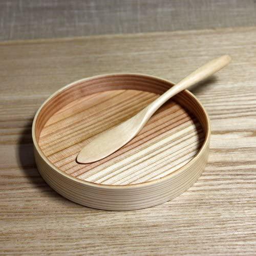 三好漆器(ミヨシシッキ)天然木製 バターナイフ KA-64 ナチュラルの商品画像3