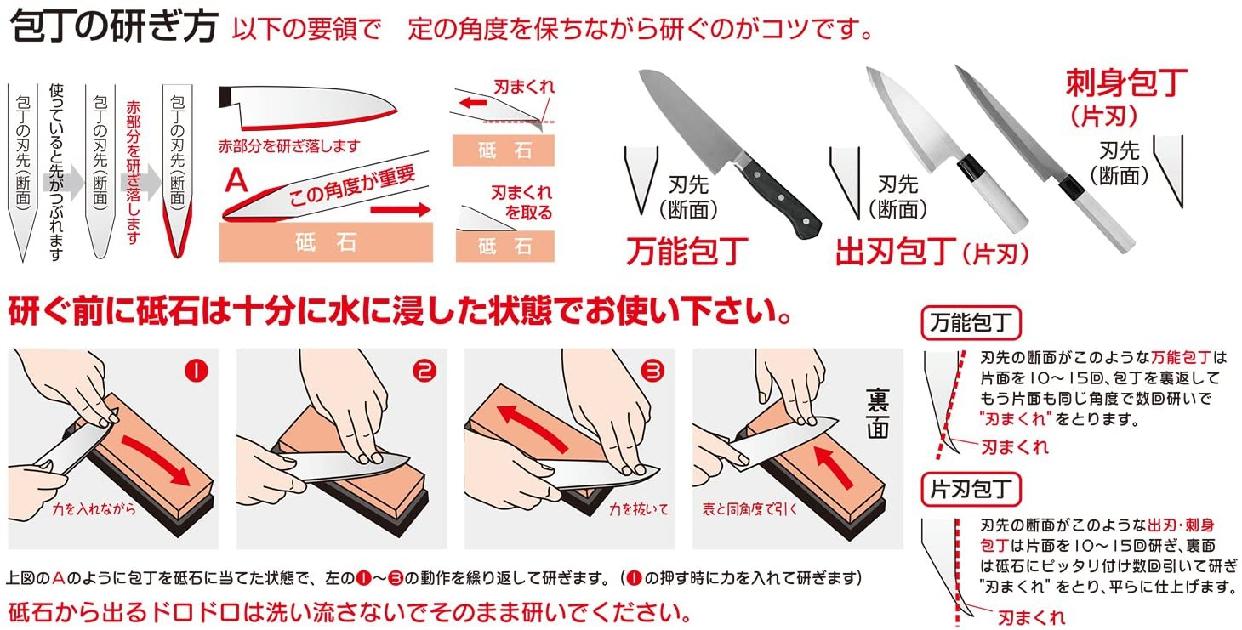 SUEHIRO(スエヒロ) スエヒロ 研ぎ器 キッチン両面砥石 #3000/#1000 クリーム SKG-24の商品画像2