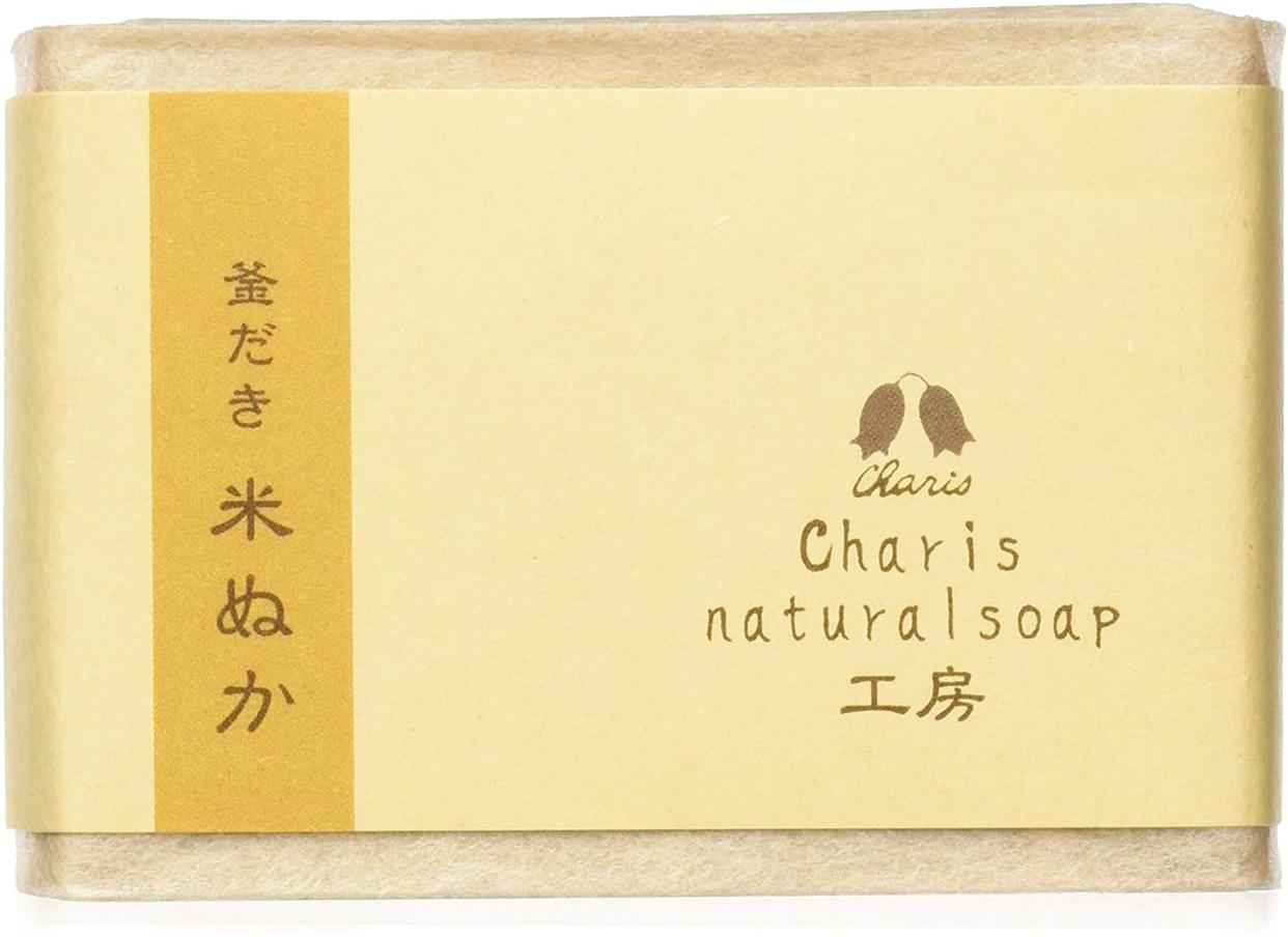 Charis(カリス) 米ぬか石鹸の商品画像