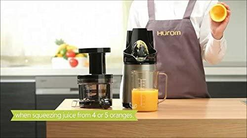 HUROM(ヒューロム) スロージューサー H2H スーペリアの商品画像7