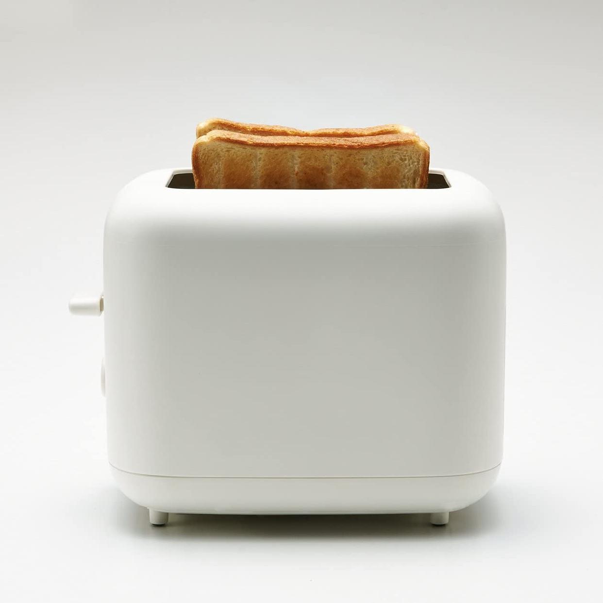 無印良品(MUJI) ポップアップトースター ホワイト MJ-PT6Aの商品画像2