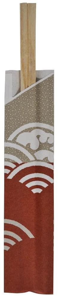 和さびや(わさびや)桧 元禄箸 21cm 100膳 W-042の商品画像2
