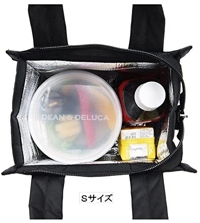 DEAN & DELUCA(ディーンアンドデルカ)クーラーバッグ ブラックSの商品画像3