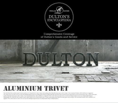 DULTON(ダルトン) Aluminum trivet 鍋敷き100-017 φ180mmの商品画像4