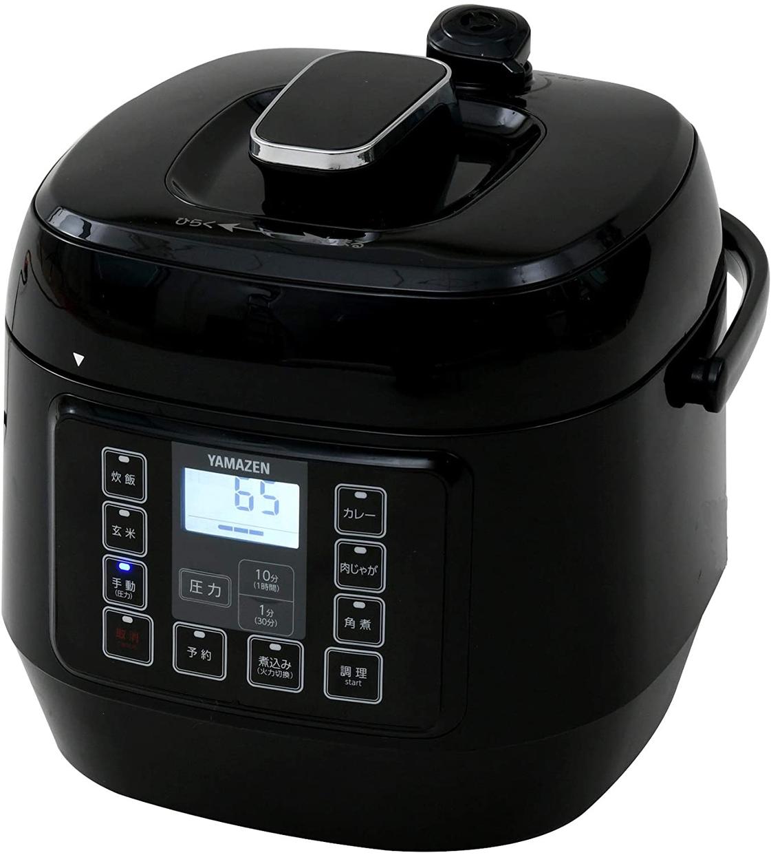 山善(YAMAZEN) 電気圧力鍋 EPCA-250Mの商品画像