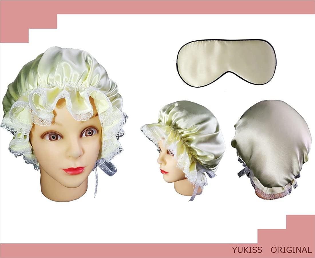 YUKISS(ユキス) シルク ナイトキャップの商品画像2