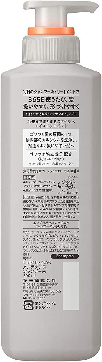 Essential(エッセンシャル) フラット モイスト&モイスト シャンプーの商品画像2