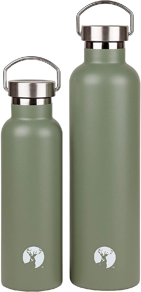CAPTAIN STAG(キャプテンスタッグ) HDボトル600 アンティークグリーンの商品画像4