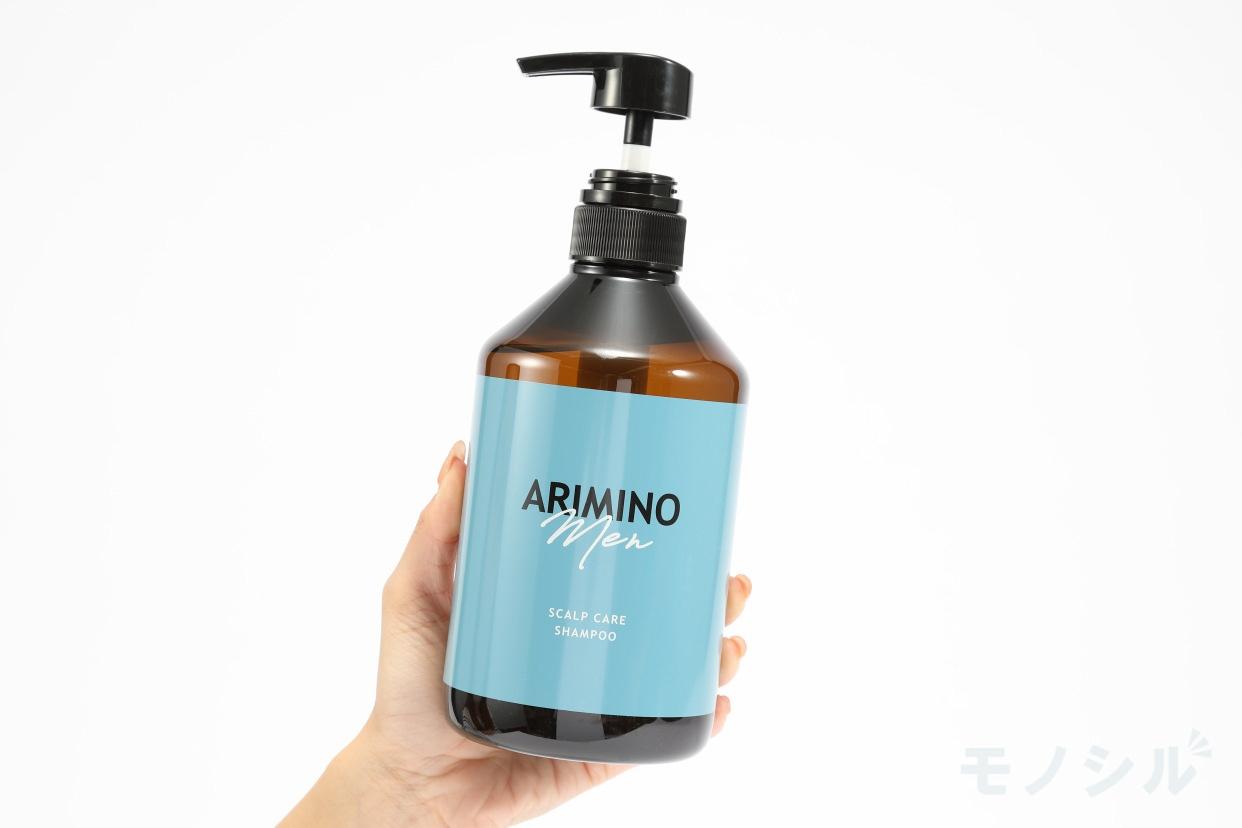ARIMINO men(アリミノ メン)スカルプケア シャンプーの手持ちの商品画像