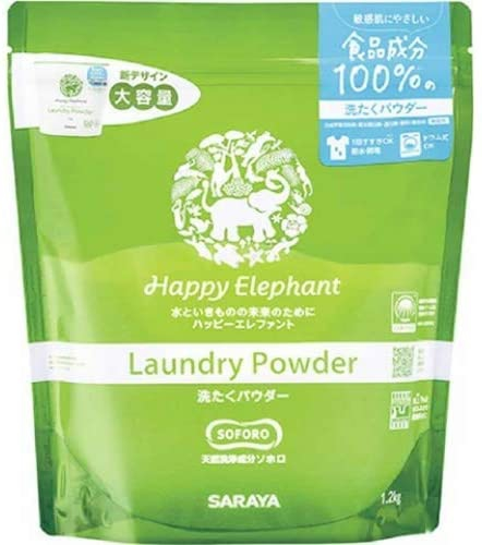 Happy Elephant(ハッピーエレファント) 洗たくパウダーの商品画像