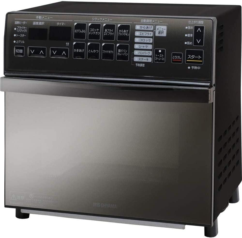 IRIS OHYAMA(アイリスオーヤマ) リクック熱風オーブン FVX-M3B-B ブラックの商品画像
