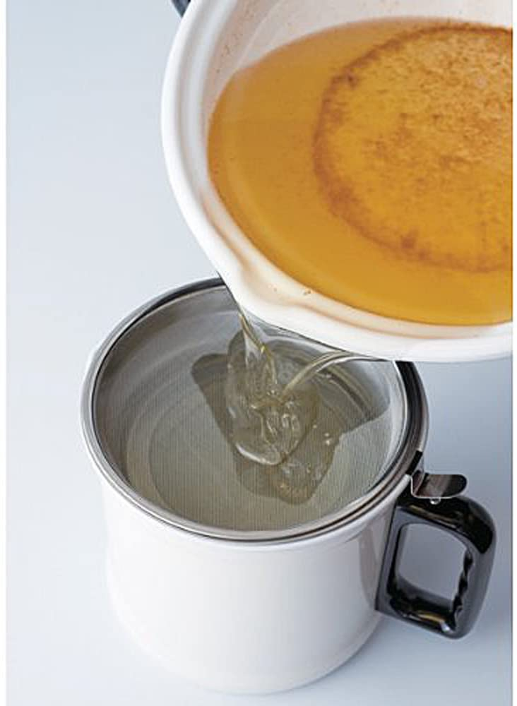 富士ホーロー(FUJIHORO) 24cm天ぷら鍋(温度計付き) ブラック TP-24の商品画像3