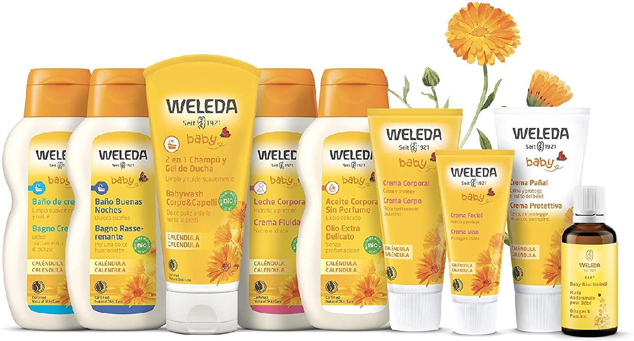 WELEDA(ヴェレダ) カレンドラ ベビーウォッシュ&シャンプーの商品画像2