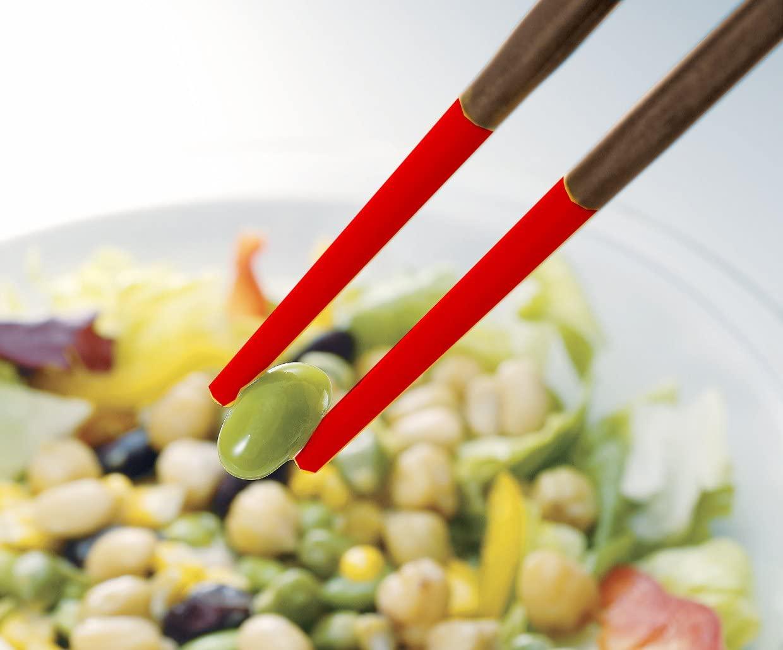 MARNA(マーナ) マーナ すべらずつかめるシリコーン菜ばし K690 レッドの商品画像3