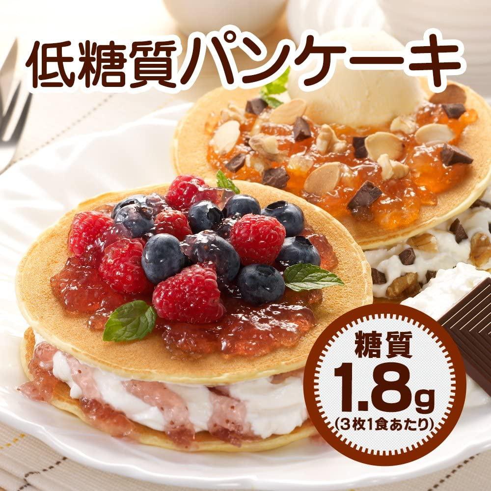 低糖工房 糖質90%オフ 低糖質パンケーキの商品画像2
