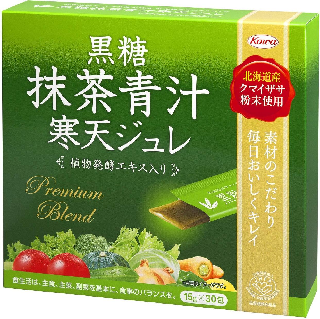 興和(kowa) 黒糖 抹茶青汁 寒天ジュレの商品画像
