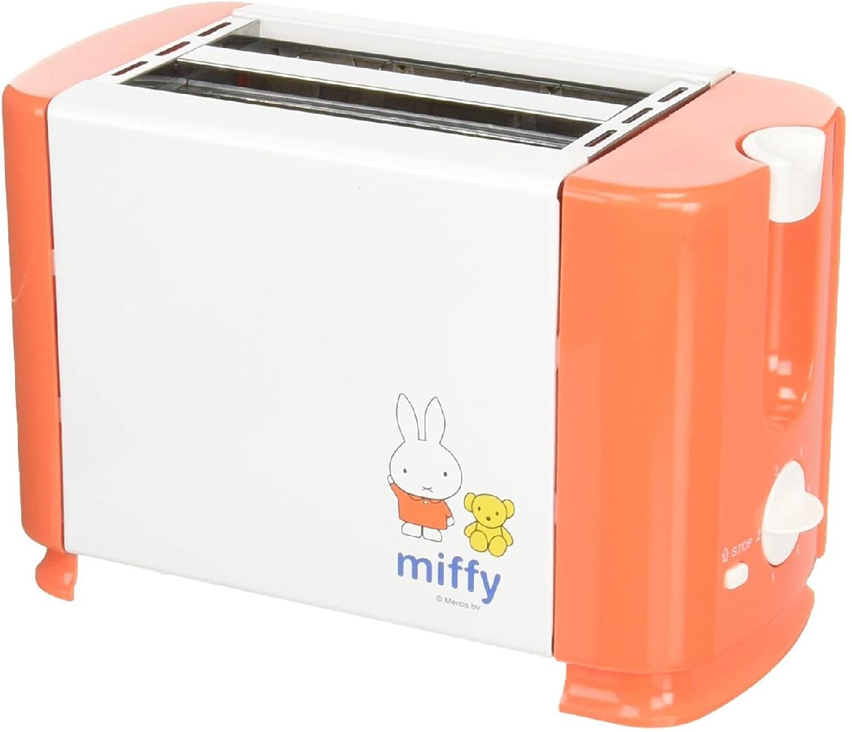 タマハシ ミッフィー ポップアップトースター オレンジ DB-203の商品画像