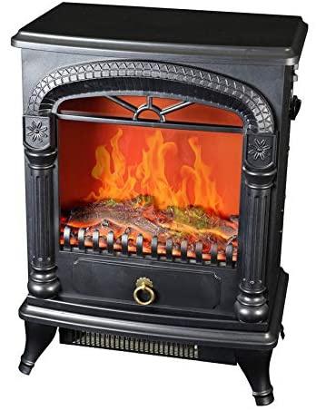 SK Japan(エスケイジャパン) 暖炉型温風ヒーター SKJ-CX1200DSの商品画像3