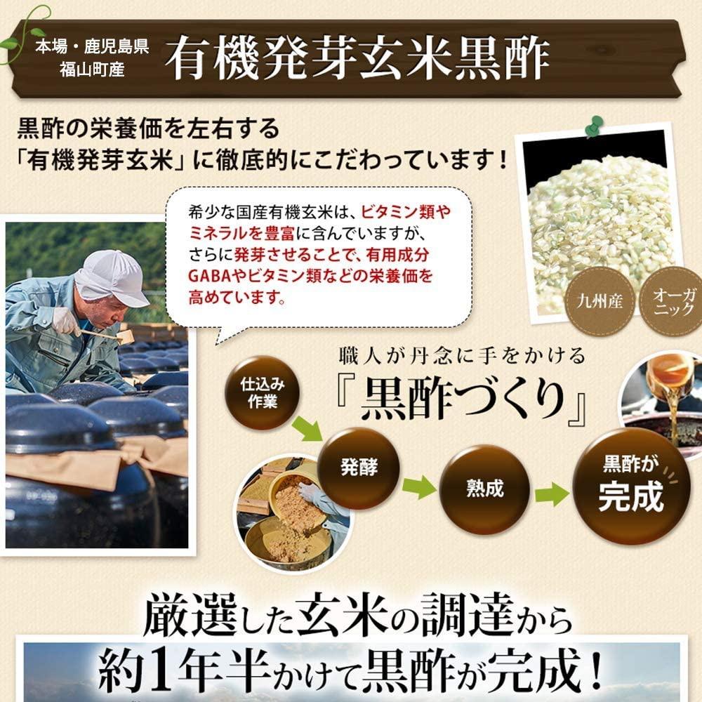 健康家族 壺づくり黒酢にんにくの商品画像6