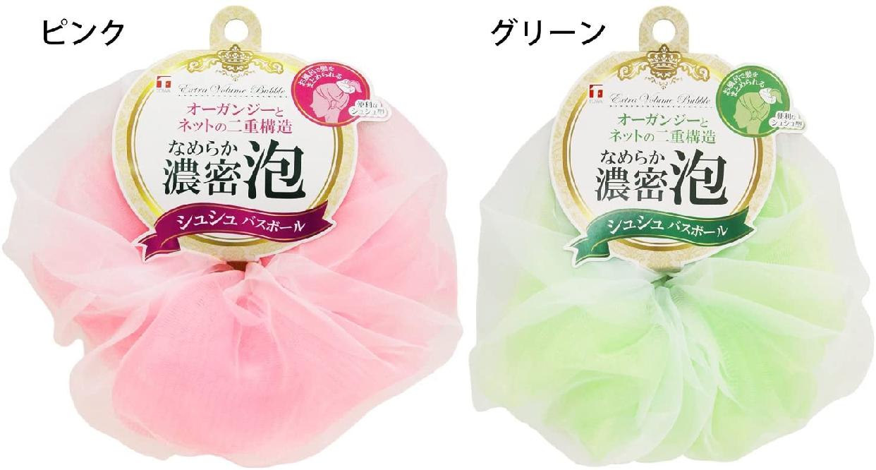 TOWA(とうわさんぎょう)泡立てネット シュシュ バスボールの商品画像4