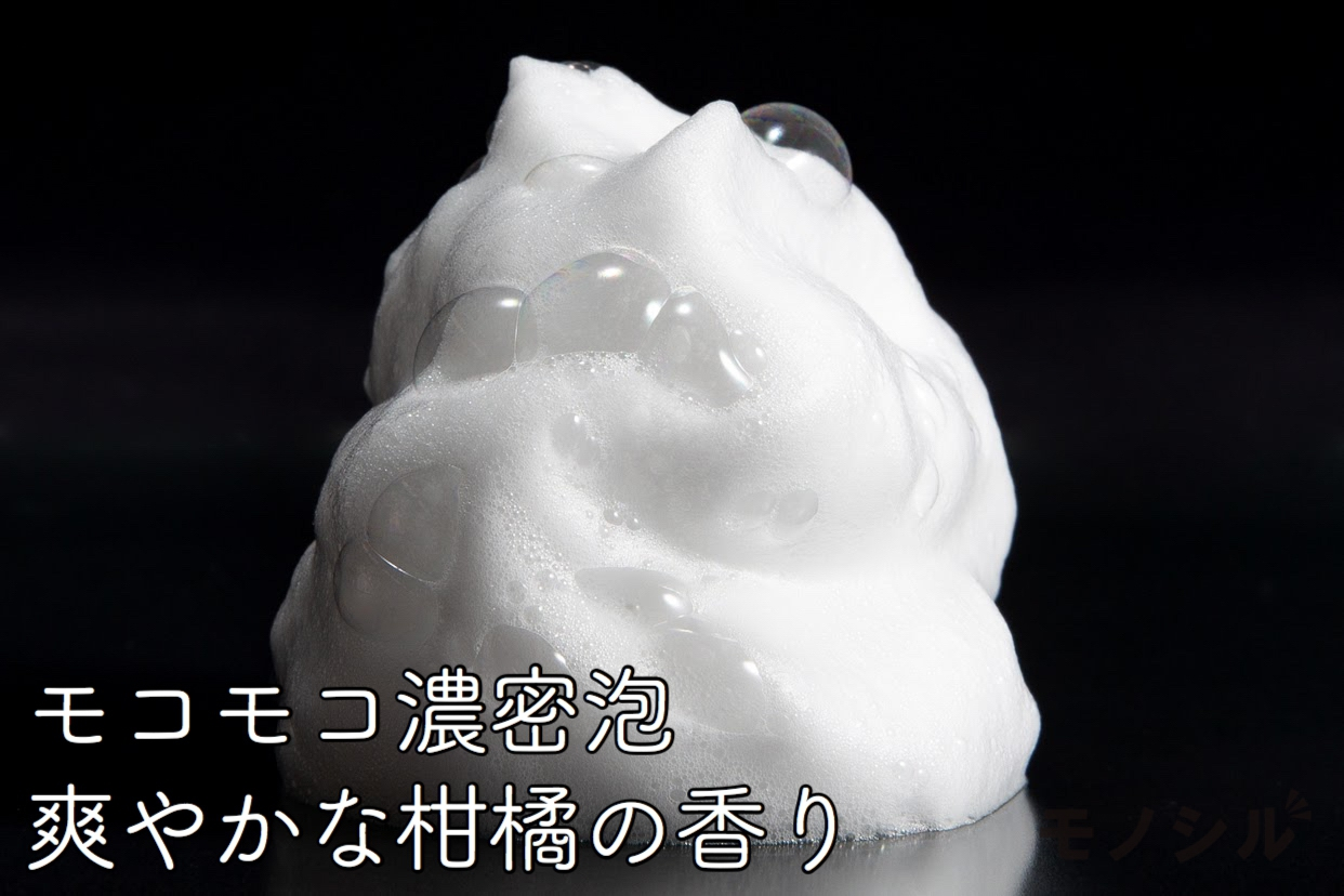 FANCL(ファンケル) マイルドクレンジング シャンプーの商品画像5 商品の泡立ち