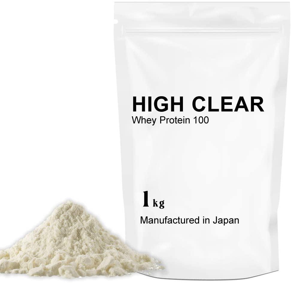 HIGH CLEAR(ハイクリアー) WPCホエイプロテイン100の商品画像