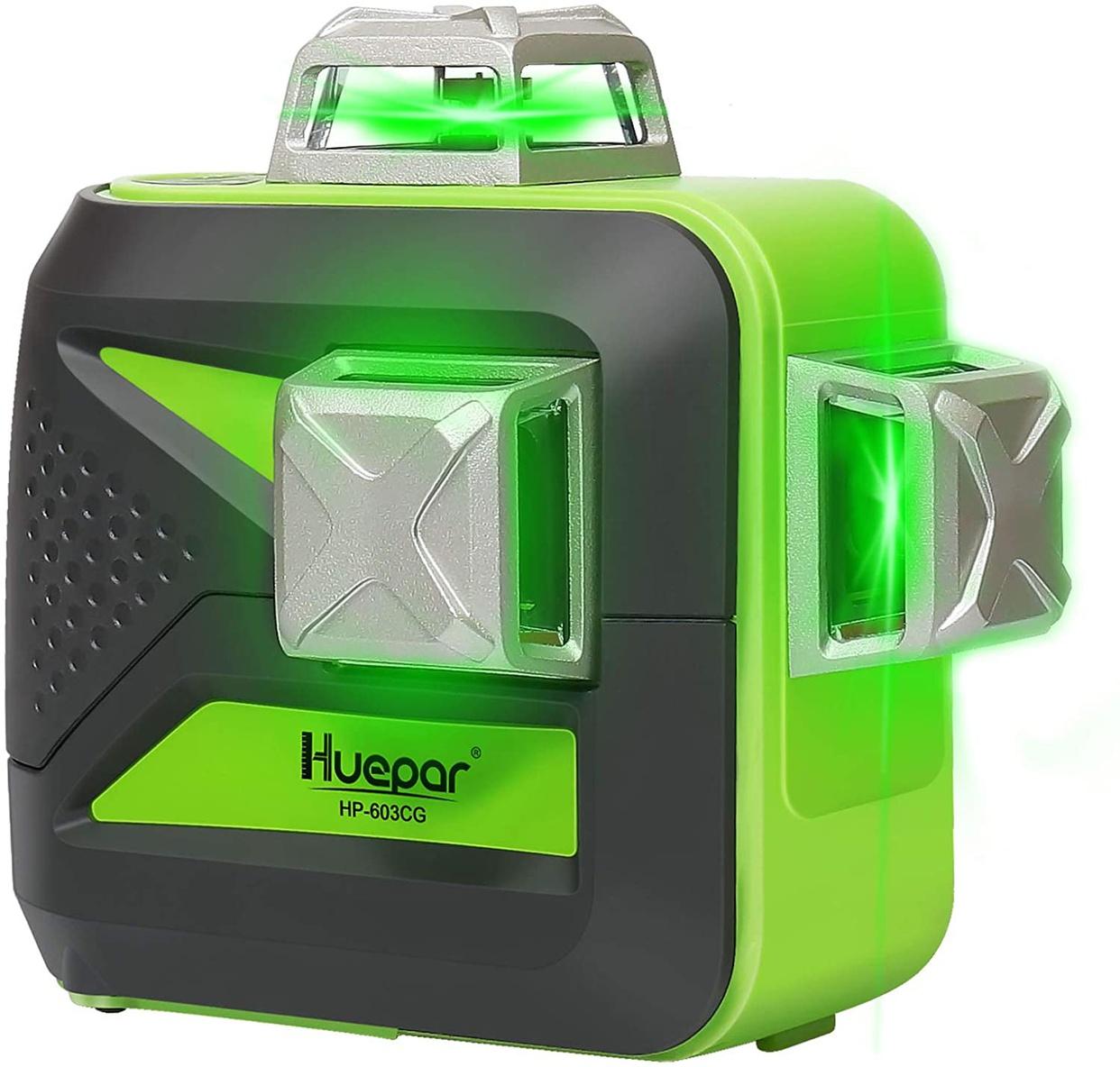 Huepar(ヒューパー) 3x360° レーザー墨出し器 603CG