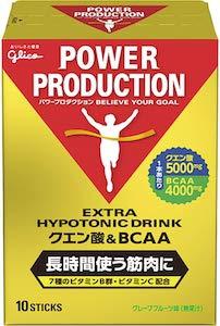 POWER PRODUCTION(パワープロダクション) エキストラハイポトニックドリンク クエン酸&BCAAの商品画像