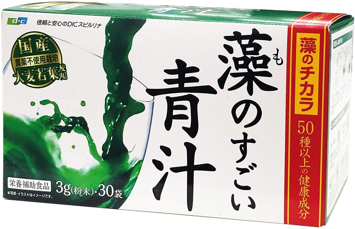 DIC スピルナ(ディーアイシー スピルナ)藻のすごい青汁