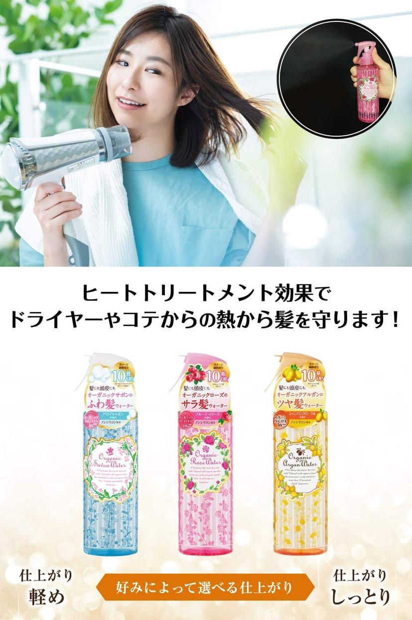 桃谷順天館(MOMOTANI JUNTENKAN) オーガニックローズヘアウォーターの商品画像4