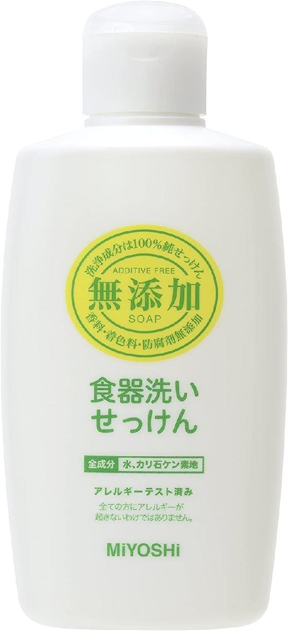 MIYOSHI(ミヨシ) 無添加 食器洗いせっけんの商品画像
