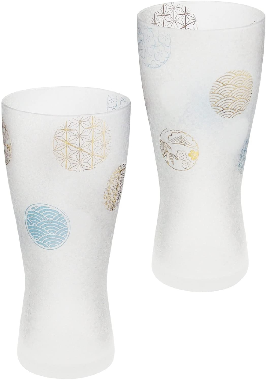 ADERIA(アデリア) プレミアム丸紋 ビアグラスM ペアセット S-6212の商品画像