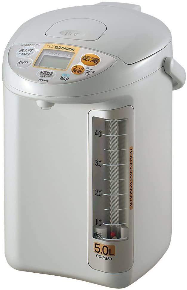 象印(ぞうじるし)マイコン沸とう電動ポット CD-PB50AMの商品画像