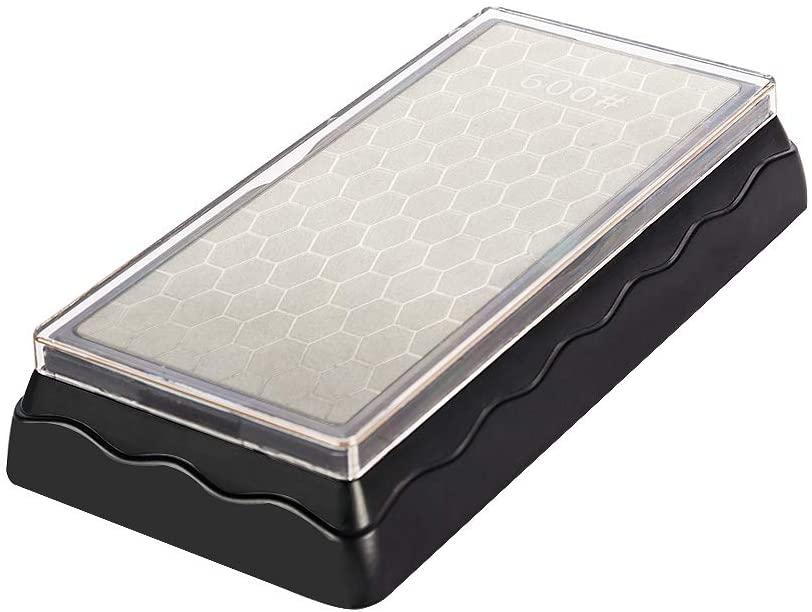 kinlight ダイヤモンド砥石 両面タイプ #600 #1200 15.5*6.5*1 cmの商品画像