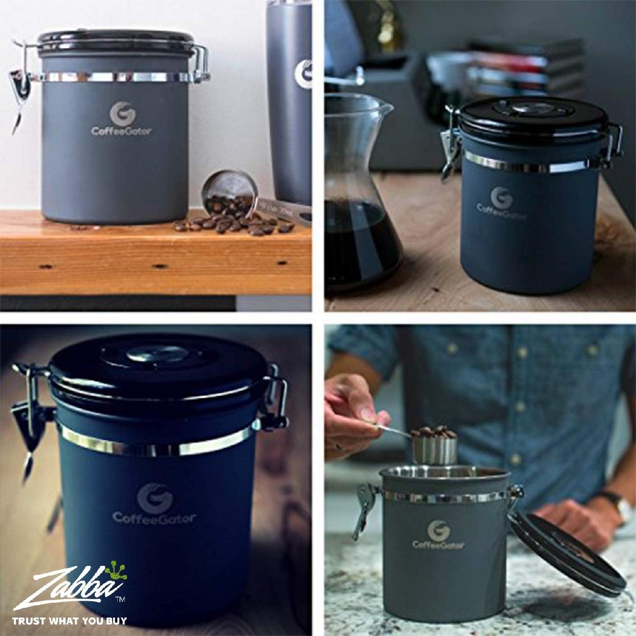 Coffee Gator(コーヒーゲーター) ステンレススチール コーヒーキャニスター 2-packの商品画像7