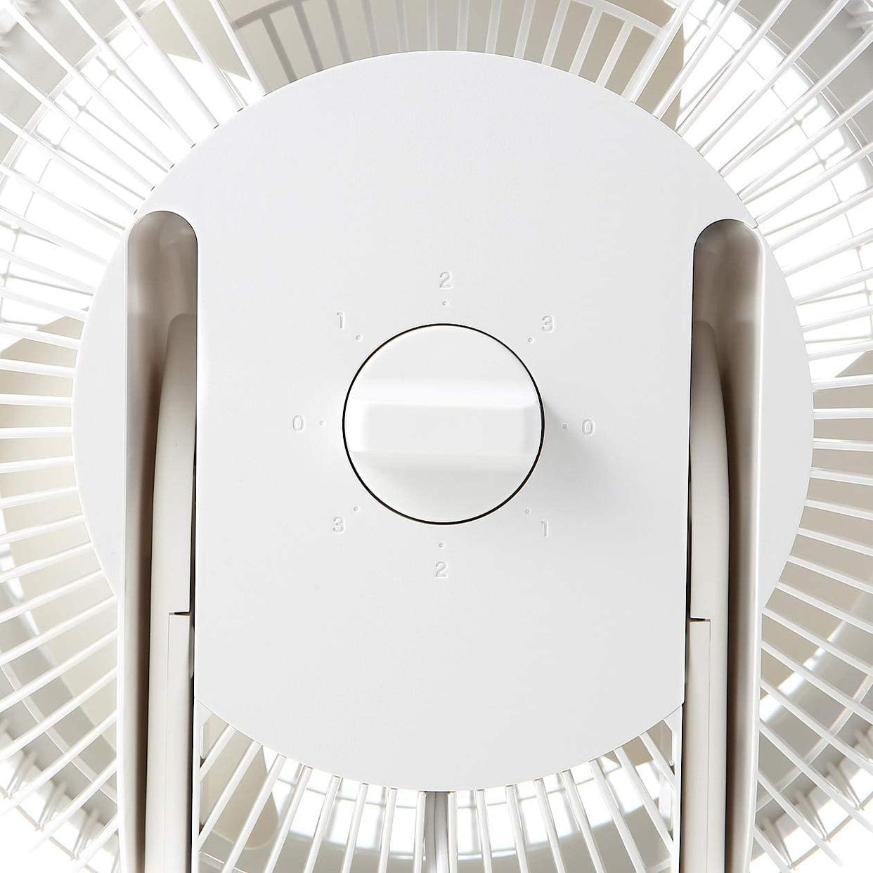 無印良品(MUJI) サーキュレーター(低騒音ファン・大風量タイプ) AT-CF26R-Wの商品画像5